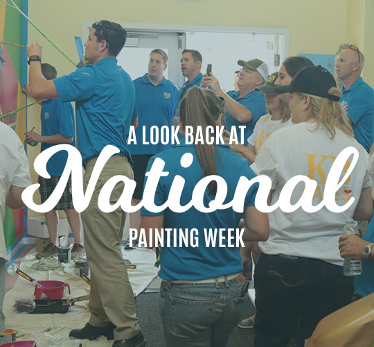 A Look Back at National Painting Week